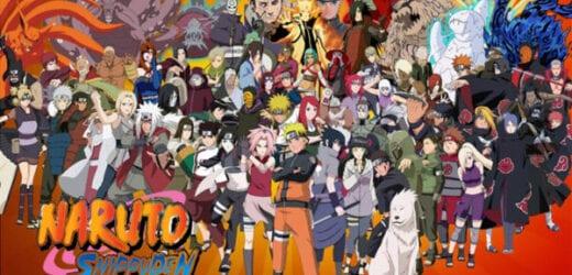นารูโตะ ตำนานวายุสลาตัน Naruto Shippuden ตอนที่ 1-500 (จบแล้ว)